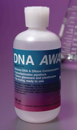 DNA AWAY® zur Oberflächendekontamination